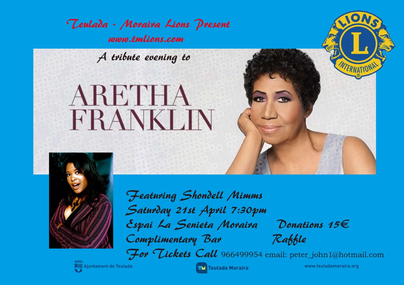 Aretha Franklin(Shondell)