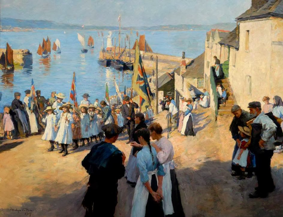 Art_Forbes Stanhope - Gala Day at Newlyn 1907