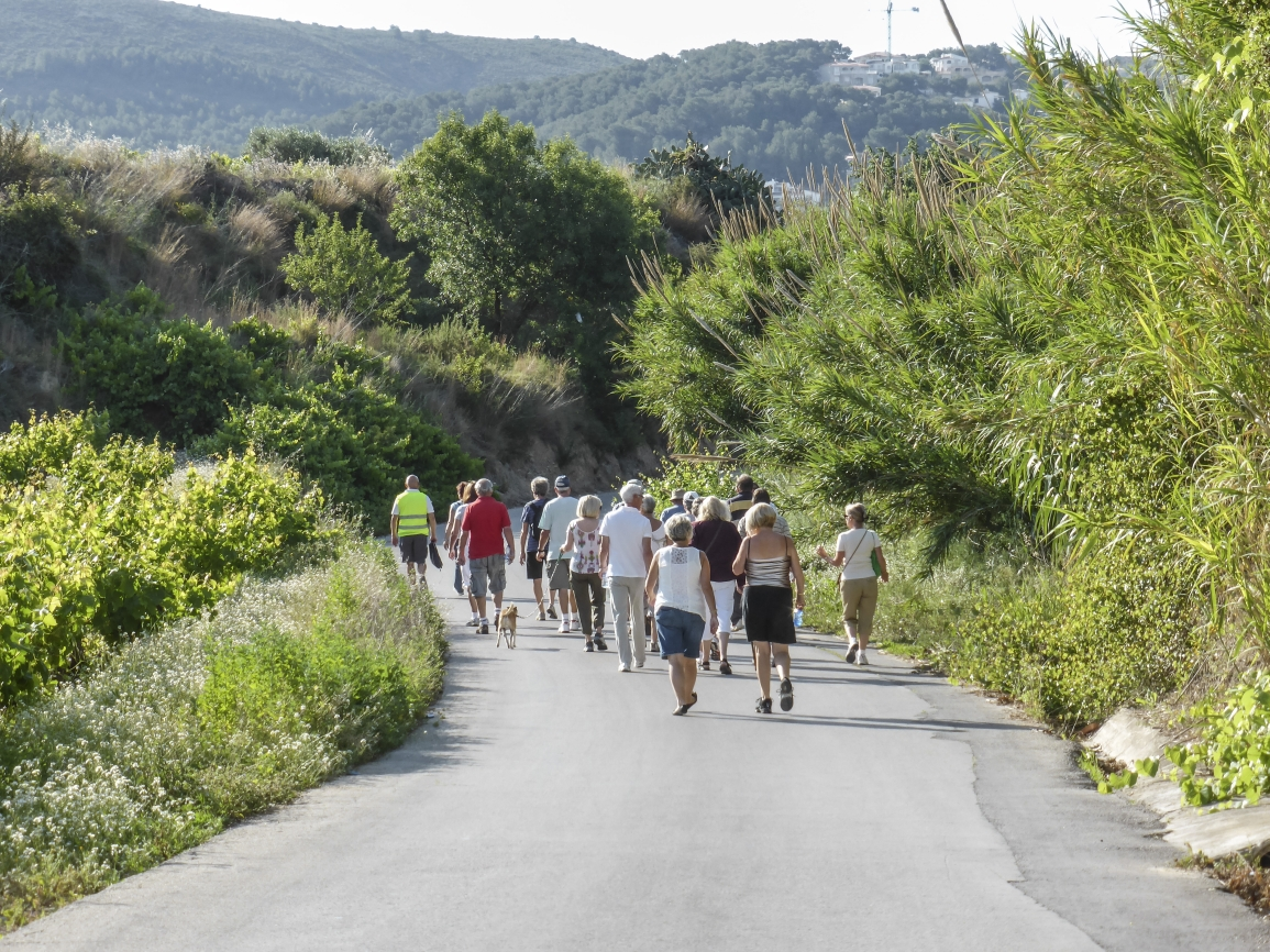Healthy walking group