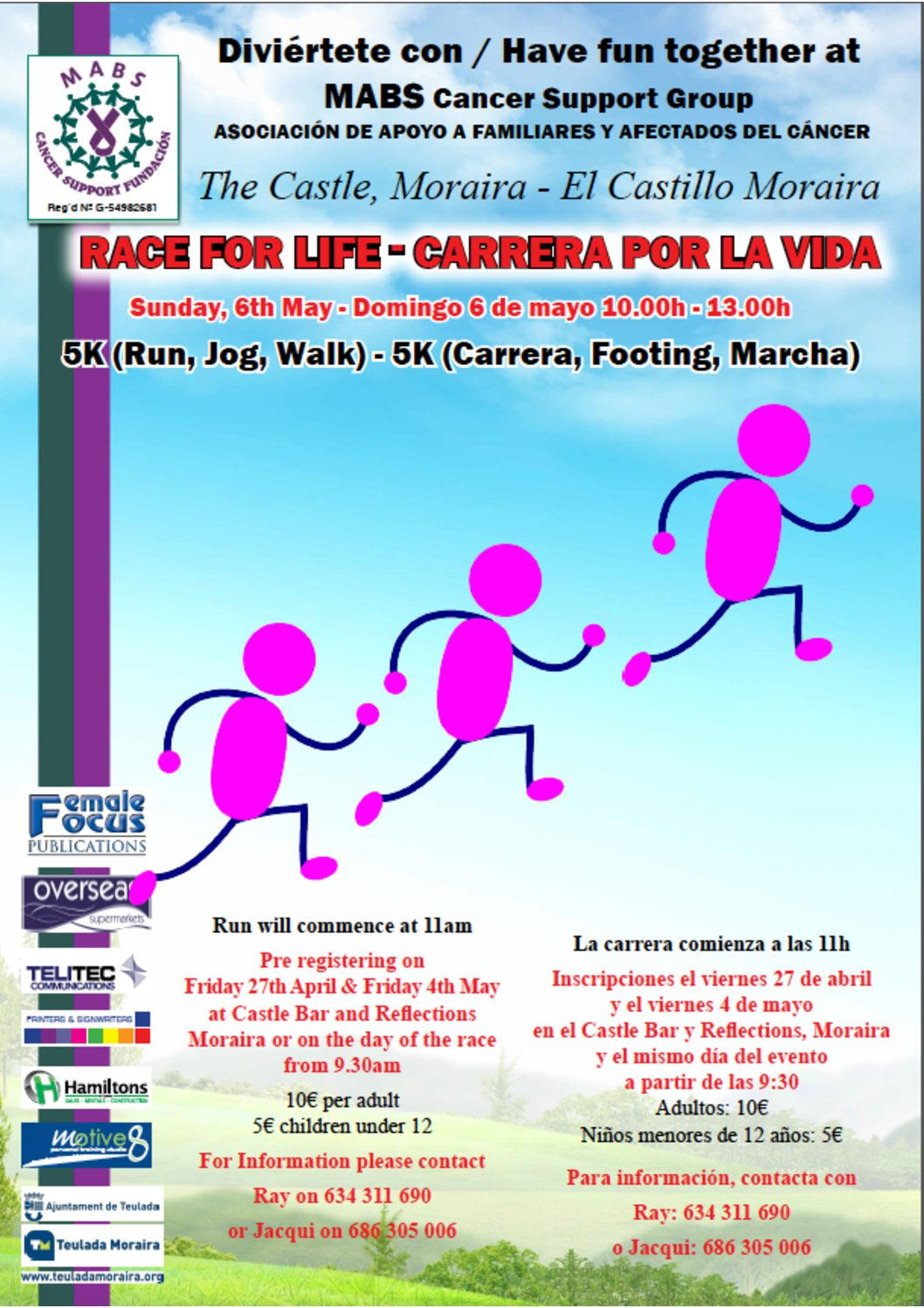 MABS 7A_Race for life_Carrera por la vida
